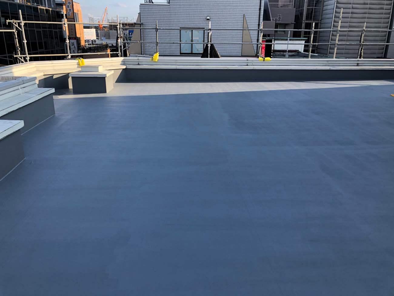 屋根の塗り替え(遮熱屋根塗装)